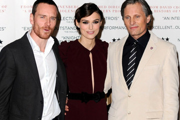 Keira Knightley Michael Fassbender Keira Knightley and Others at the Premiere of 'A Dangerous Method' 3