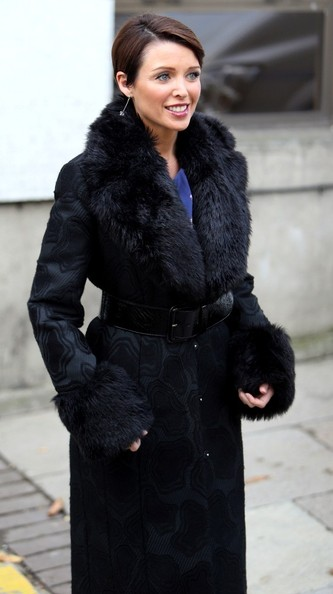 More Pics of Dannii Minogue Fur Coat (1 of 10) - Dannii Minogue Lookbook - StyleBistro