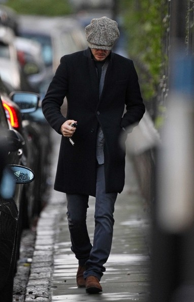David Beckham Wool Coat
