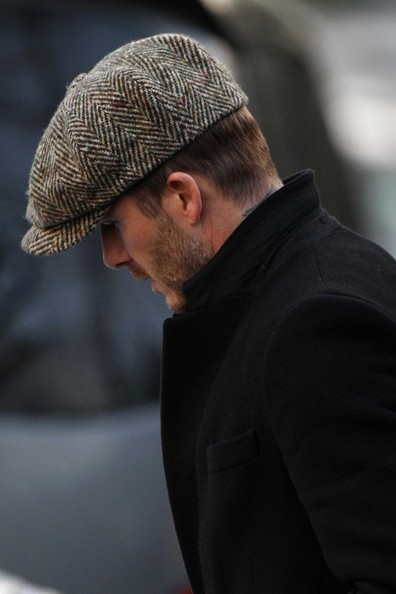 More Pics of David Beckham Newsboy Cap (4 of 16) - David Beckham Lookbook - StyleBistro