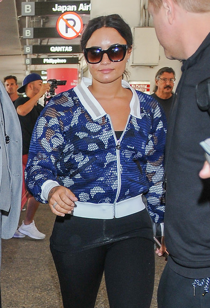 Demi Lovato Butterfly Sunglasses