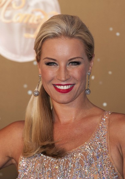 Denise van Outen Dangling Spheres