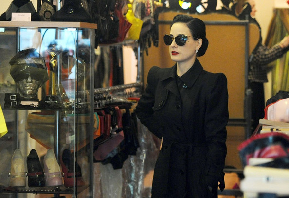 3901439e747b More Pics of Dita Von Teese Cateye Sunglasses (3 of 11) - Dita Von Teese  Lookbook - StyleBistro