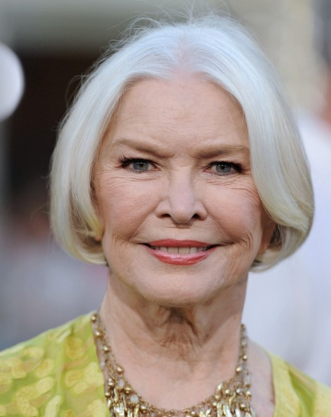 Ellen Burstyn showed off a perfect bob at the premiere of 'Draft Day.'