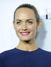 Amber Valletta opted for a simple, sleek ponytail when she attended the Dream for Future Africa Foundation Gala.