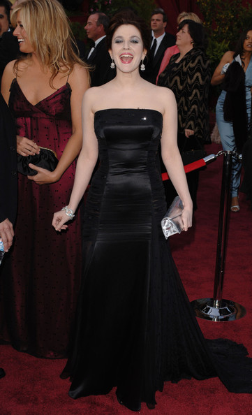 Drew Barrymore Strapless Dress