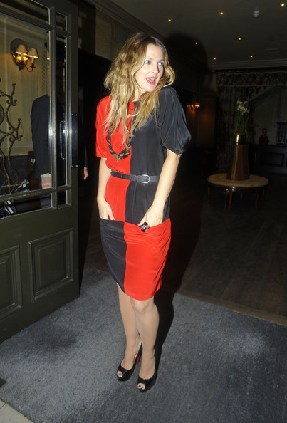 More Pics of Drew Barrymore Peep Toe Pumps (3 of 6) - Drew Barrymore Lookbook - StyleBistro