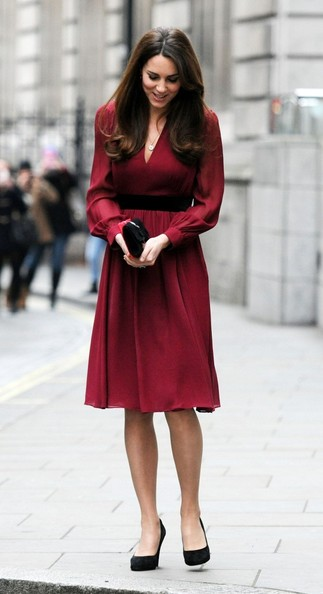 More Pics of Kate Middleton Day Dress (1 of 4) - Kate Middleton Lookbook - StyleBistro