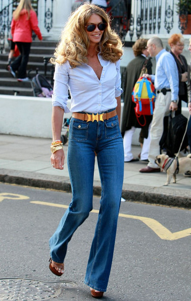 Elle MacPherson High-Waisted Jeans