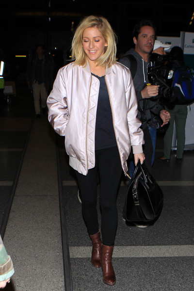 Ellie Goulding Leather Tote