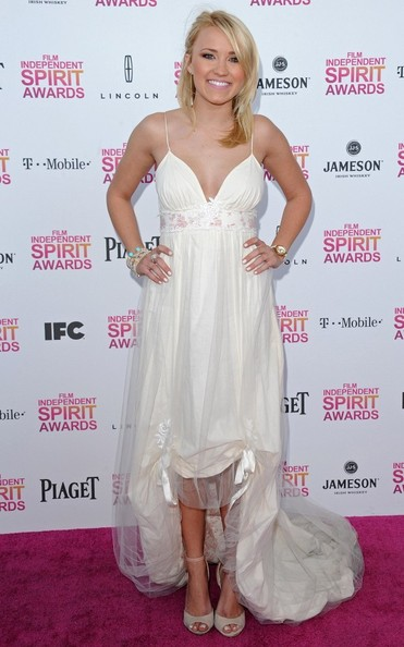 Emily Osment Fishtail Dress