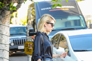 Emma Roberts Tasseled Shoulder Bag