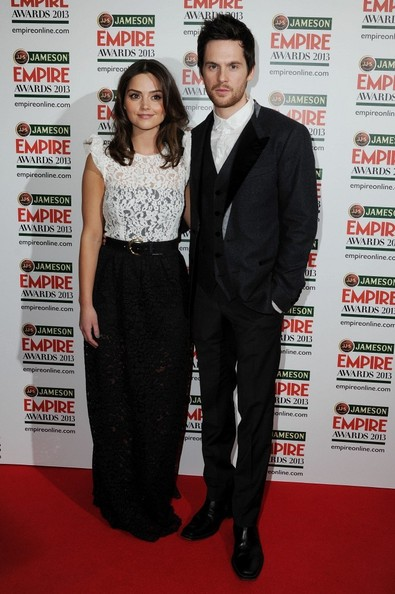 More Pics of Jenna-Louise Coleman Medium Layered Cut (1 of 7) - Shoulder Length Hairstyles Lookbook - StyleBistro