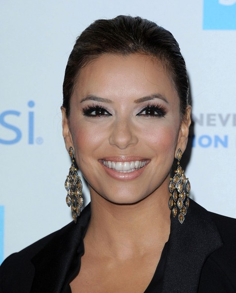 Eva Longoria Dangle Decorative Earrings