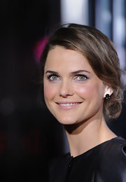 Keri Russell pulled her hair back in an elegant chignon for the premiere of 'Extraordinary Measures.'