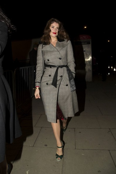 More Pics of Gemma Arterton Trenchcoat (3 of 3) - Gemma Arterton Lookbook - StyleBistro