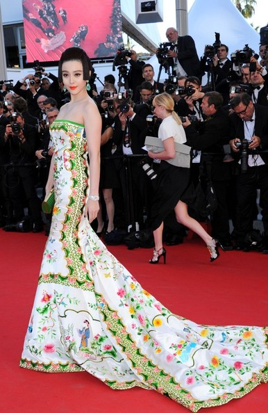 Fan Bingbing Mermaid Gown