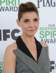 Clotilde Courau rocked a towering pompadour at the Film Independent Spirit Awards.