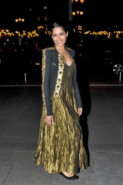 Freida Pinto Fitted Jacket