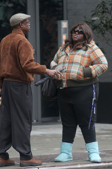 Gabourey Sidibe Oval Sunglasses