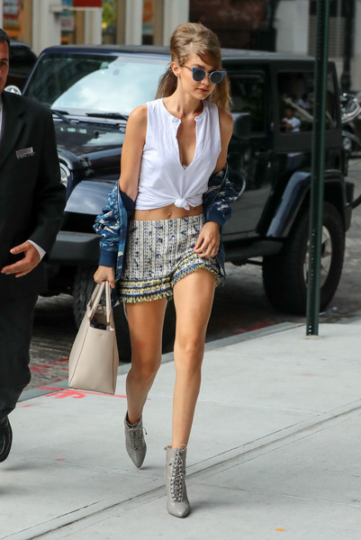 Gigi Hadid Dress Shorts