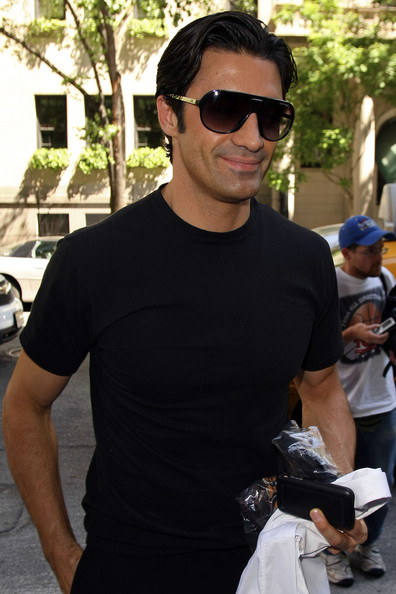 Gilles Marini Designer Shield Sunglasses