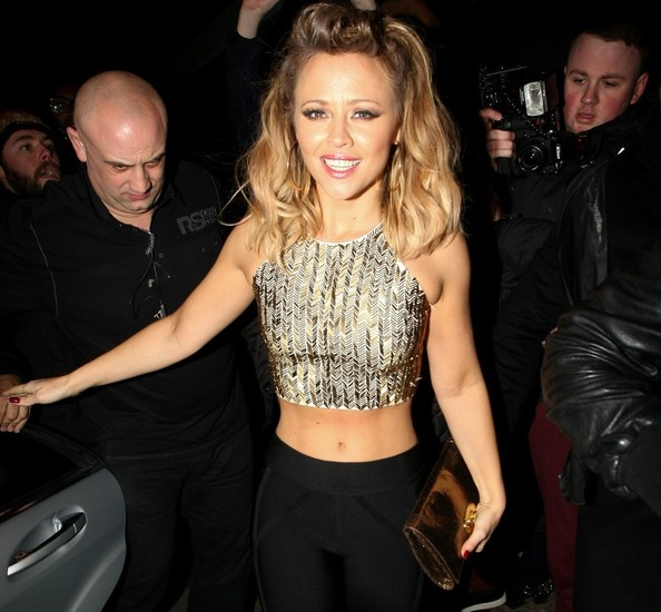 More Pics of Kimberley Walsh Crop Top (1 of 6) - Kimberley Walsh Lookbook - StyleBistro