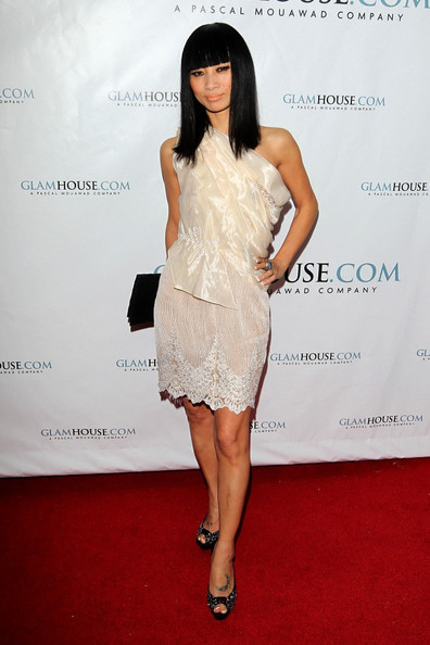 More Pics of Bai Ling Peep Toe Pumps (1 of 2) - Bai Ling Lookbook - StyleBistro