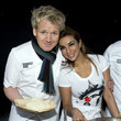 Gordon Ramsay and Shobna Gulati