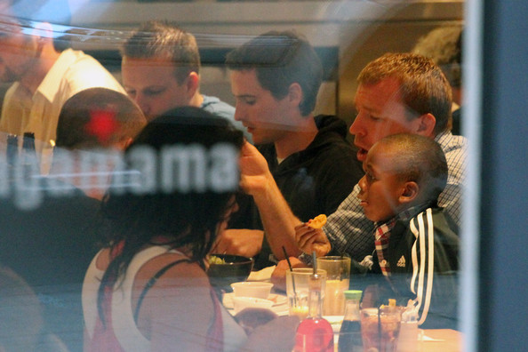 Guy Ritchie at Wagamama
