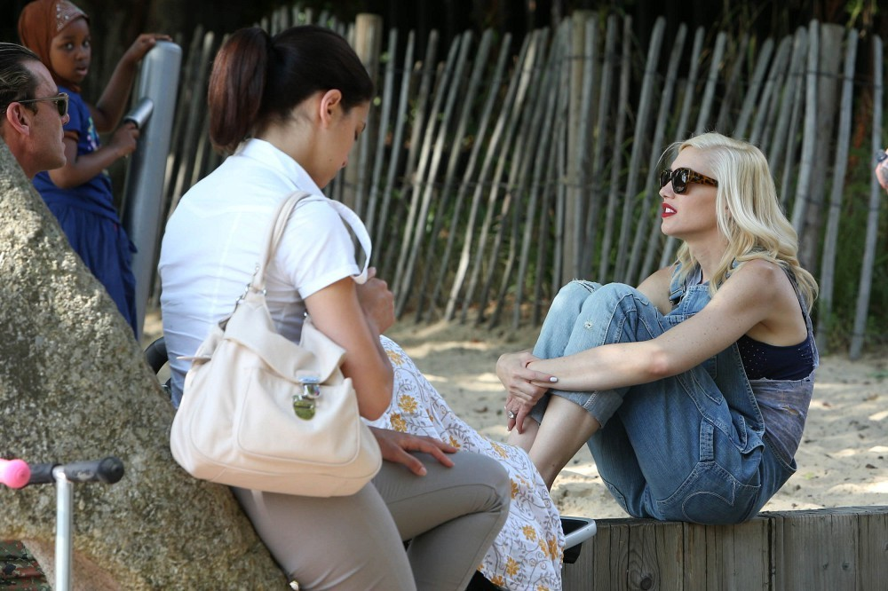 Gwen Stefani's Family Day Out