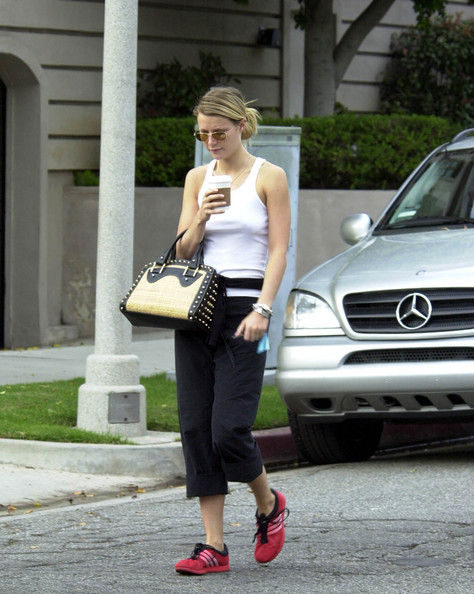 Gwyneth Paltrow Leather Sneakers