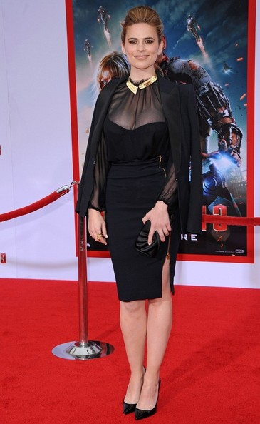 Hayley Atwell Little Black Dress