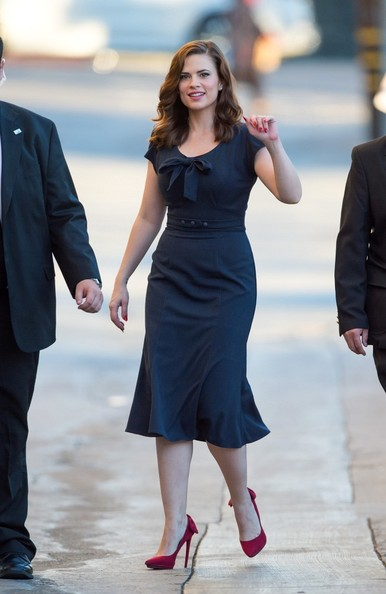 Hayley Atwell Shoes