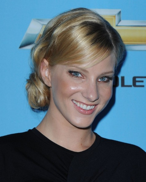 Heather Morris Chignon