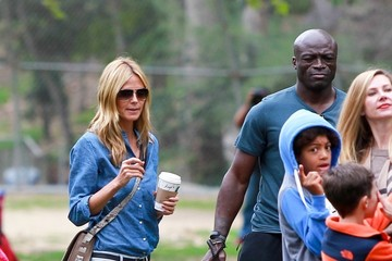 Heidi Klum Seal Seal and Heidi Klum Soccer Go to their Kids' Soccer Game — Part 2