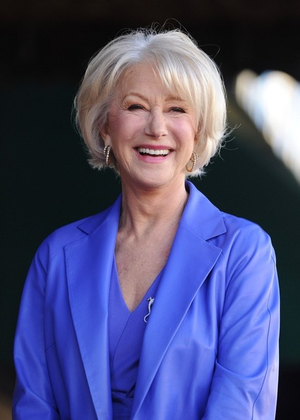 More Pics of Helen Mirren Peep Toe Pumps (4 of 51) - Helen Mirren Lookbook - StyleBistro