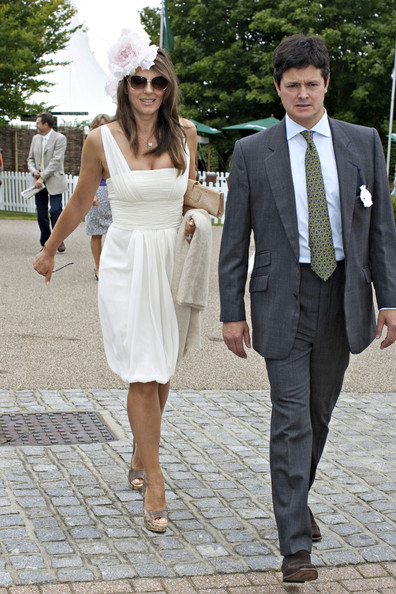 More Pics of Elizabeth Hurley Decorative Hat (1 of 3) - Elizabeth Hurley Lookbook - StyleBistro