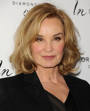 Jessica Lange looked chic with her curly bob at the premiere of 'In Secret.'