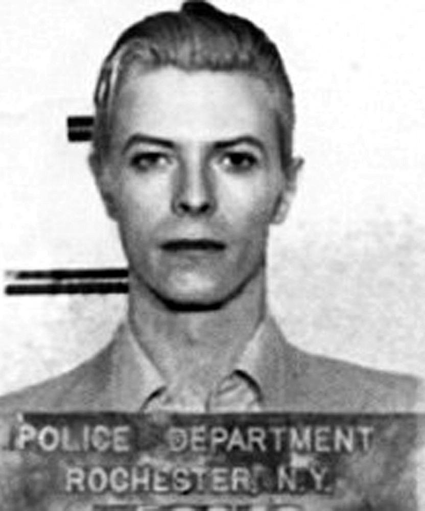 David Bowie Arrested in 1976