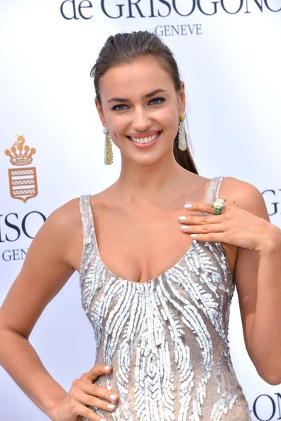 More Pics of Irina Shayk Metallic Nail Polish (1 of 19) - Irina Shayk Lookbook - StyleBistro