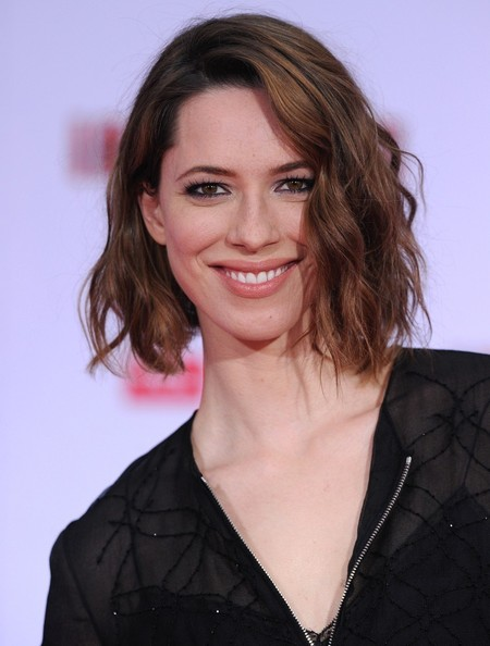 More Pics of Rebecca Hall Short Wavy Cut (3 of 13) - Short Hairstyles Lookbook - StyleBistro