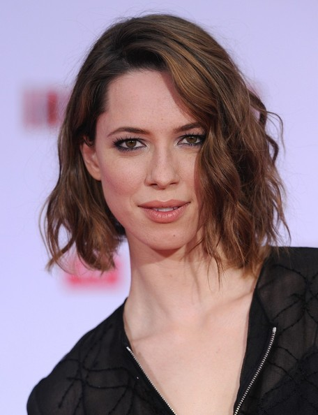 More Pics of Rebecca Hall Short Wavy Cut (5 of 13) - Short Hairstyles Lookbook - StyleBistro