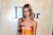 Isabel Lucas Strapless Dress