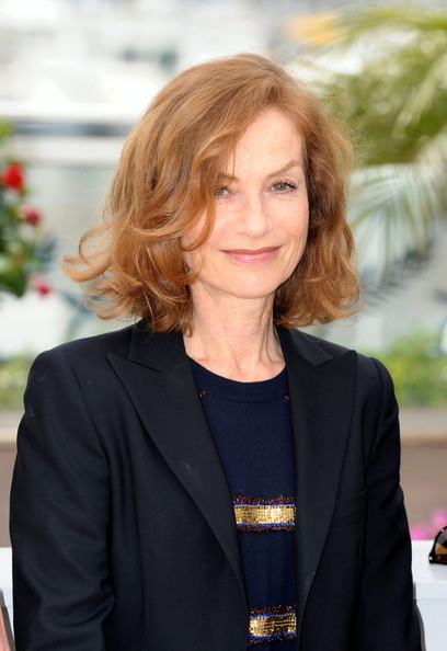 Isabelle Huppert Curled Out Bob