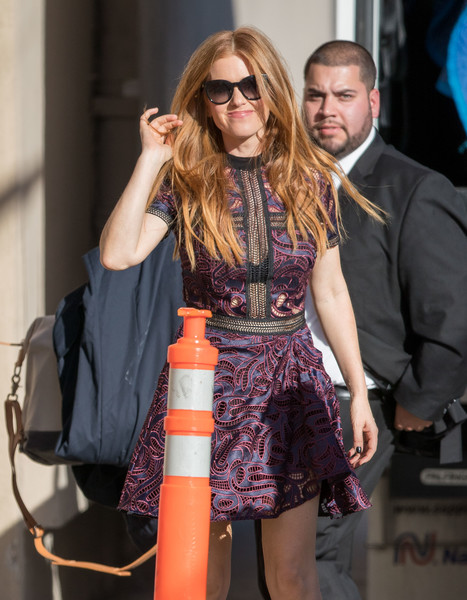 Isla Fisher Lace Dress