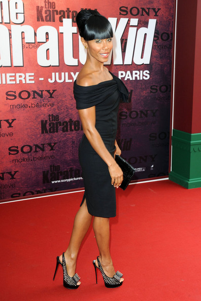 Jada Pinkett Smith Studded Heels