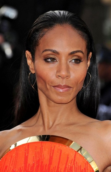 Jada Pinkett Smith Gold Hoops