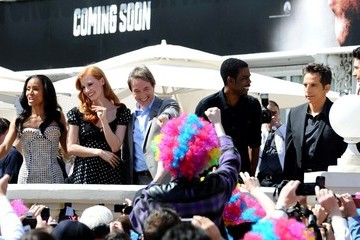 Jada Pinkett Smith Jessica Chastain Photocall for 'Madagascar 3' at the Cannes Film Fest