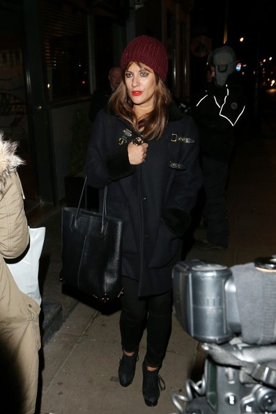 More Pics of Caroline Flack Knit Beanie (3 of 4) - Knit Beanie Lookbook - StyleBistro